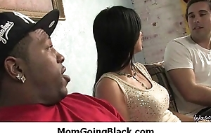 Interracial porn MILF babe gets nailed by big cock insidious dude 22