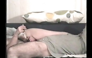Amateur Cook jerking not far from urethral vibrating sound
