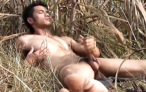 Asian Model Geezer off Outdoor