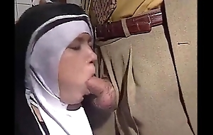 German Nun Fucked into ass Close to Kitchenette