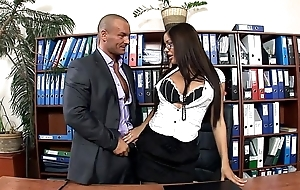 Assignment secretary fucked with stockings and heels