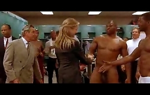Cameron Diaz in Men'_s Locker room CFNM..gives studs boners