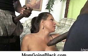 Amazing interracial sex Dismal cock coupled with Scalding MILF 29