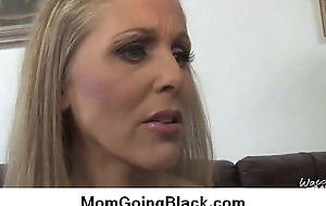 Amazing interracial sex Black cock and Sex-mad MILF 16