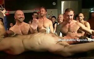 Merry sex slave forced to please group