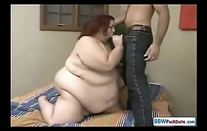 Freak SSBBW gets fucked