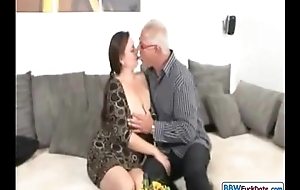 Daddy with an increment of German BBW