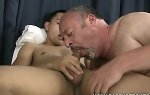 Daddy Sucks Latino Twinks Cock