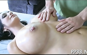 Hot special massage