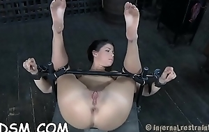 Clamped close to cookie acquires her light of one's life holes tortured