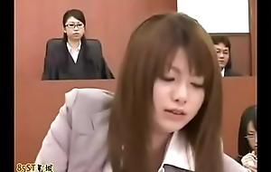 Inappreciable man in asian courtroom - Title Please