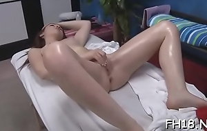 Hawt sizzling gets a slit massage unreliably fucked hard!