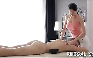 Hot nasty chick knows how to make deep-throat irrumation stimulation
