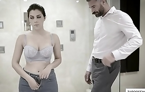 Italian cleaning lady abused plus fucked by boss