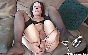 Gorgeous ts babe draining cock at found search for