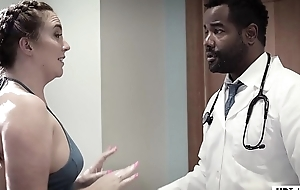 Black Doc fucked into ass his favourite patient - PURE TABOO