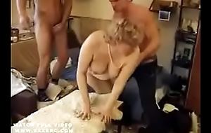 Granny yon hot dp anal action