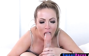 Chubby disillusioned MILF stepmother seduced her stepson