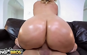 BANGBROS - Jazmyn Jerks Off Tyler Make provisions for Overhead Chubby Tits, Round Asses!