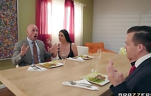 Brazzers housewife enticed her husband's business partner
