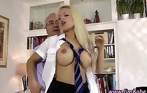 Matured british impoverish receives a blowjob and fucks teacher girl